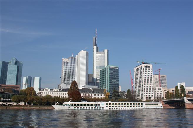 Frankfurt ist laut dem Sustainable Cities Index 2016 die nachhaltigste Stadt Deutschlands. Foto: www.pixabay.de