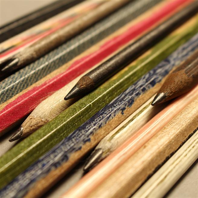 Arlt und Riedel fertigen auch Stifte aus frischen Naturfasern: Jute, Flachs oder Baumwolle. © manaomea GmbH