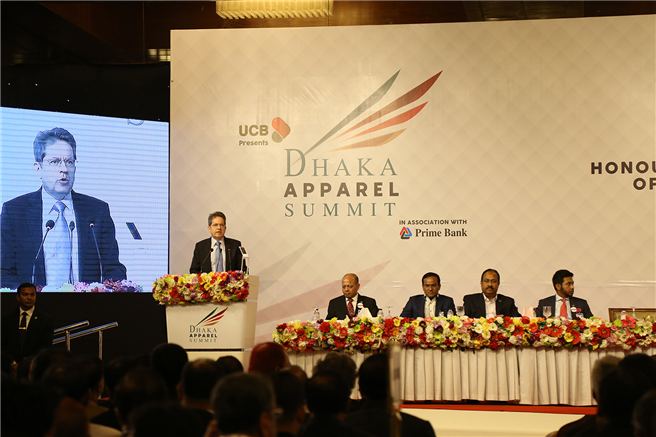 Der 2. Dhaka Apparel Summit 2017 in Bangladesh war ein voller Erfolg. © Dhaka Apparel Summit 2017