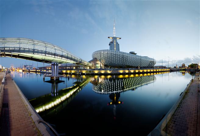 Außenansicht des Meyer Klimahauses © Deutsche KlimaStiftung