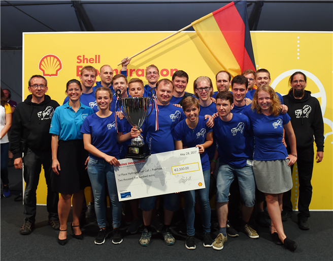 Team ThaiGer-H2-Racing aus Stralsund © Shell