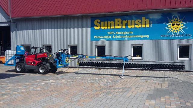 Die SunBrush Twin kann sowohl Nass- als auch Trockenreinigungen durchführen. © SunBrush
