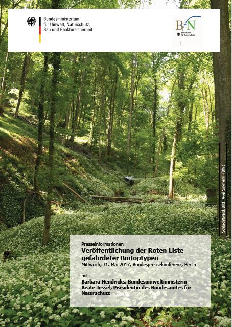 Die neue Rote Liste gefährdeter Biotoptypen zeigt ein durchwachsenes Bild © BfN