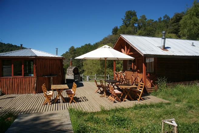Fundo Laguna Blanca umfasst rund 1.200 Hektar und liegt auf 800 –1.600 Metern rund 700 km südlich der Hauptstadt Santiago und nahe der Grenze zu Argentinien. © Change Campo eG