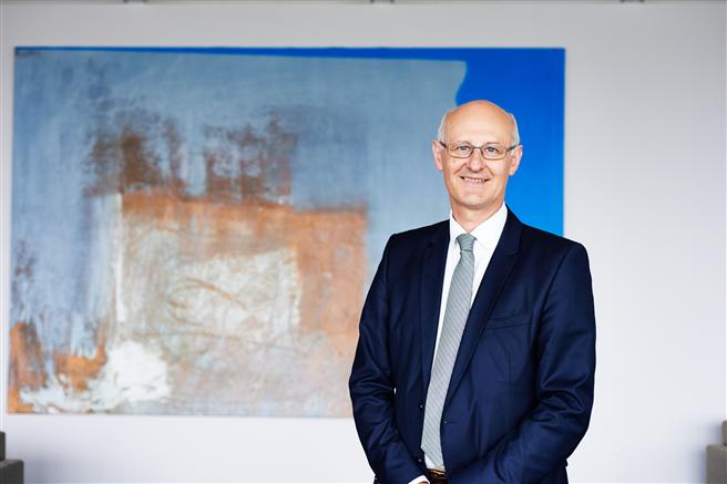 Professor Dr. Alan McKinnon ist seit 2012 Professor für Logistik an der Kühne Logistics University (KLU) in Hamburg und neues Mitglied in der Jury des HANSE GLOBE. © Christin Schwarzer