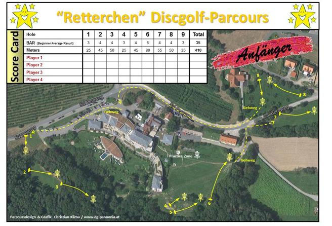 Beim Discgolf dürfen Wälder und Wiesen so bleiben wie sie sind. © Retter, Seminar Hotel Bio Restaurant