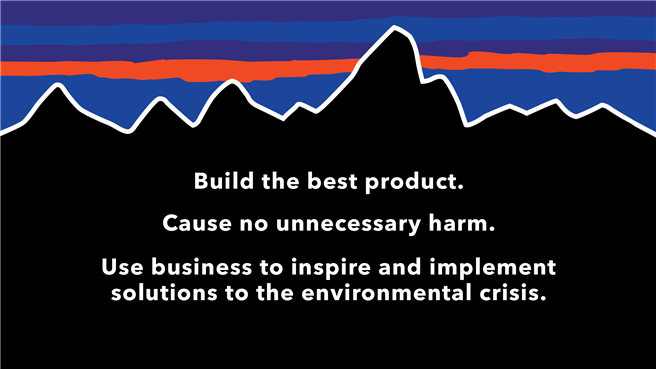 Das Patagonia Mission Statement