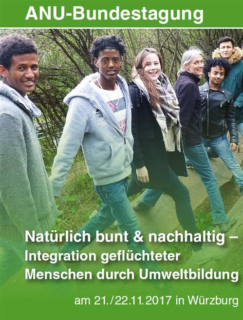 Plakat der ANU-Bundestagung im November 2017 in Würzburg. © ANU