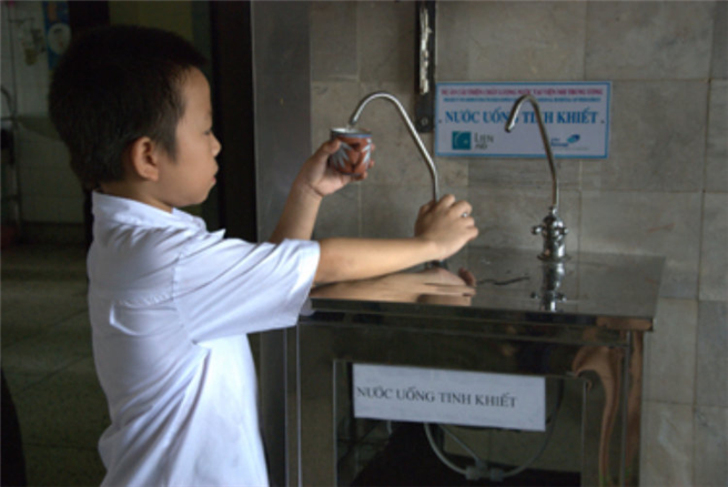 Water for the World-Projekt im Thach Ha District Hospital, Vietnam Foto: © Borealis