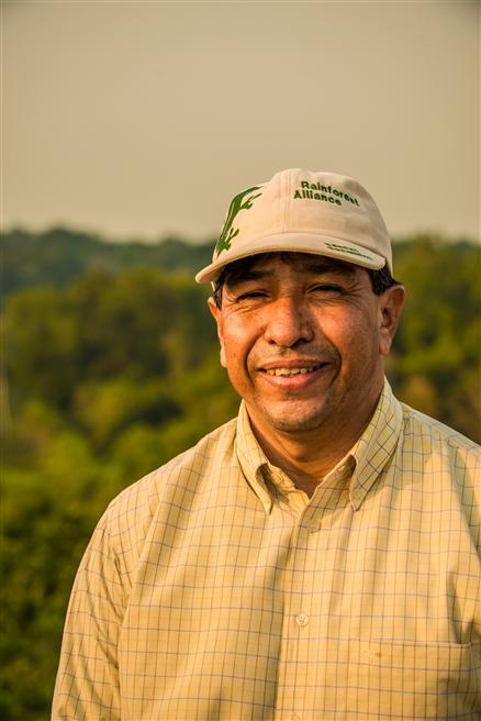José Román Carrera, Latin America strategic partnerships director der Rainforest Alliance. © Sergio Izquierdo
