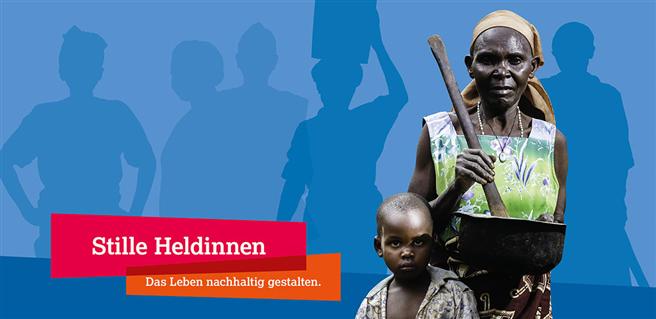 Stille Heldinnen. Das Leben nachhaltig gestalten. © DBU, HelpAge Deutschland e.V.