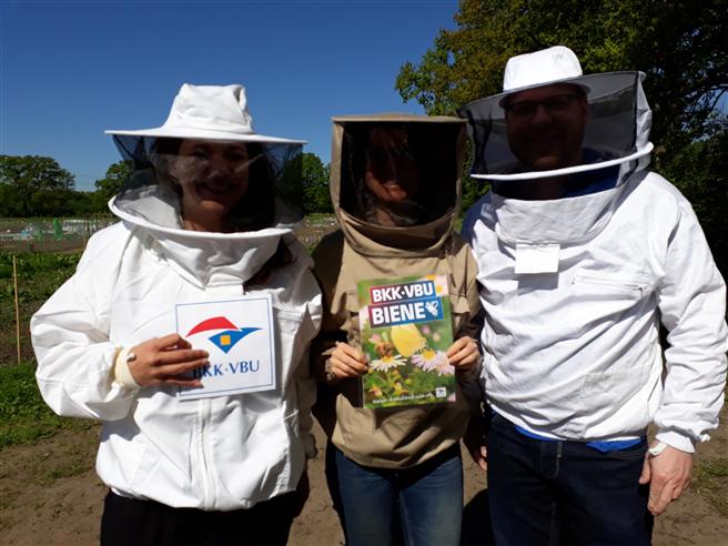 "BKK·VBU startet Projekt ""Gesunde Biene – gesunder Mensch"