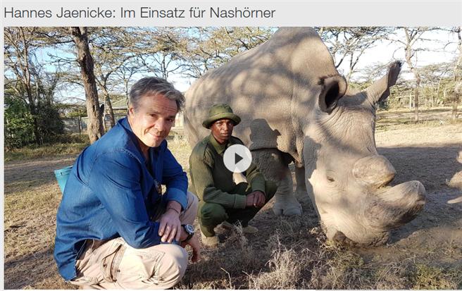 Den preisgekrönten, bewegenden Film von Hannes Jaenicke finden Sie in der ZDF Mediathek © ZDF