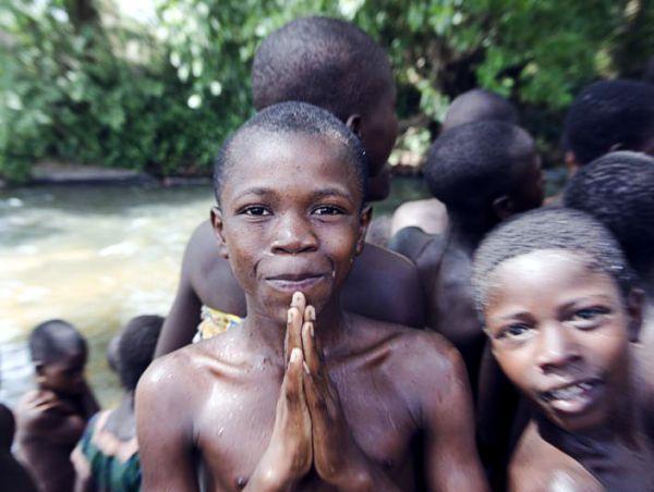 Vorfreude in Togo im Projektgebiet Fokpo. © natureOffice