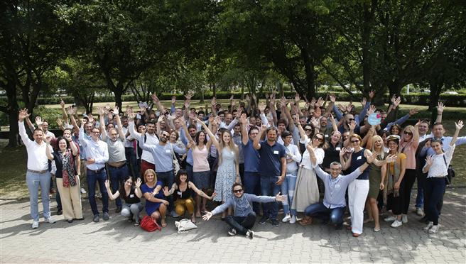 60 Start-ups aus neun europäischen Ländern haben am internationalen Bootcamp in Frankfurt teilgenommen. © 2018 Provadis Partner für Bildung und Beratung GmbH. © Provadis