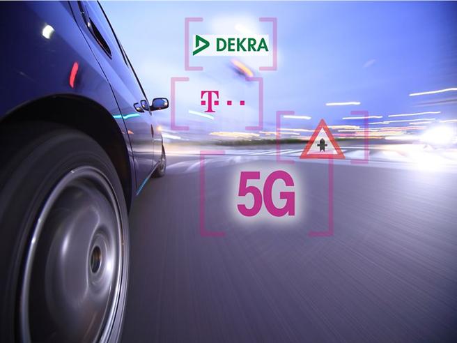 Telekom entwickelt 5G-Technologie für Kommunikation zwischen Fahrzeugen © Deutsche Telekom AG
