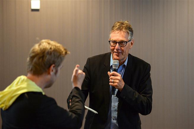 Fritz Lietsch moderierte das Forum 'Inklusion' auf dem FAMAB Sustainability Summit. © FAMAB e.V.