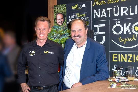 biofruit GmbH Geschäftsführer und TV-Koch Johann Lafer. © biofruit