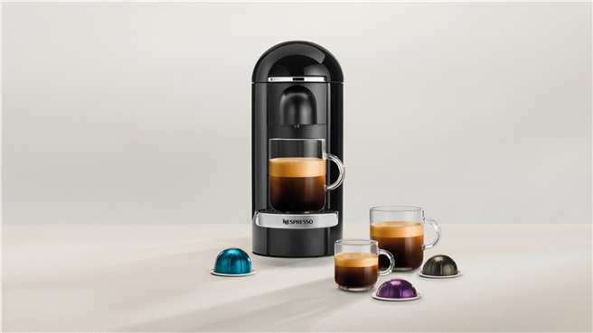 Nespresso Genuss gibt es jetzt auch für große Tassen bis zu 414 ml. © Nespresso Deutschland GmbH
