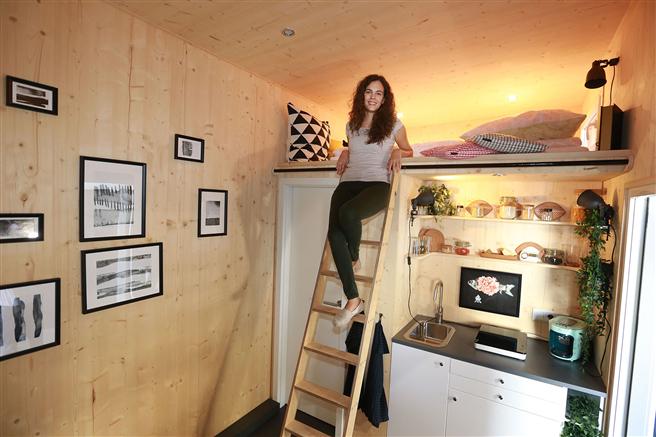 Auf der FAIR FRIENDS können Besucher sich ein Tiny House von innen ansehen und sich davon überzeugen, wie 'groß' die 'kleinen' Häuser sind. © FAIR FRIENDS