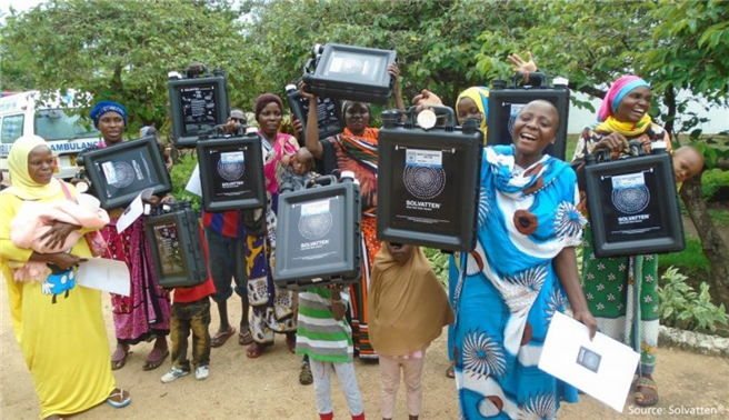 Greencarrier and Solvatten in collaboration for safe water and better lives. © Greencarrier