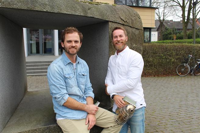 Mark und Martin Poreda, Gründer Hektar Nektar und Initiatoren der Bienenschutz-Initiative Projekt 2028. © Hektar Nektar