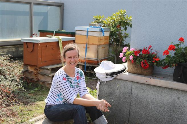 Kerstin Kopp, Imkerin aus Köln © Hektar Nektar, Tiffany Janzen