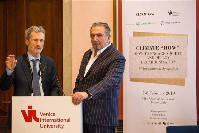 Andrea Boragno, CEO Alcantara (r.) und Georg Kell, Arabesque © Alcantara