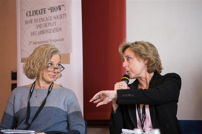 Giovanna Melandri und Connie Hedegard © Alcantara