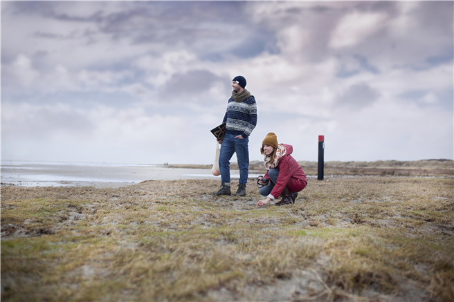 Strandjutten Joep und Lotte. © DO WAD