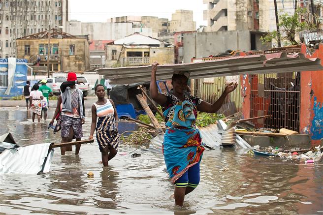 In der Nacht vom 14. auf den 15. März traf der Zyklon 'Idai' Mosambik sowie die benachbarten Länder Simbabwe und Malawi. © Deutsche Post DHL Group