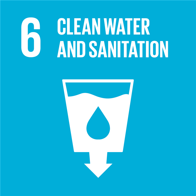 The right for clean water and sanitation is one of the Sustainable Development Goals © UN