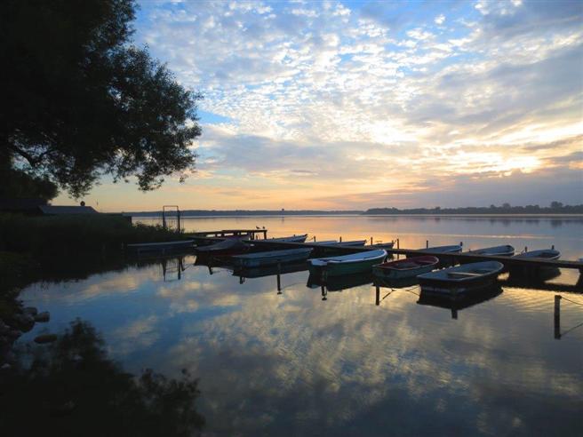 Nur wenige Boote sind auf dem Schaalsee zugelassen. © E. Dornblut