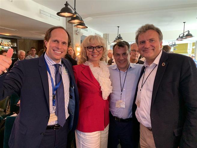 Jochen Wermuth, Dr. Mariana Bozesan, Markus Bodenmeier, Thomas Schulz © AQAL AG