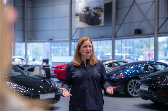 Daniela Rathe © Porsche AG
