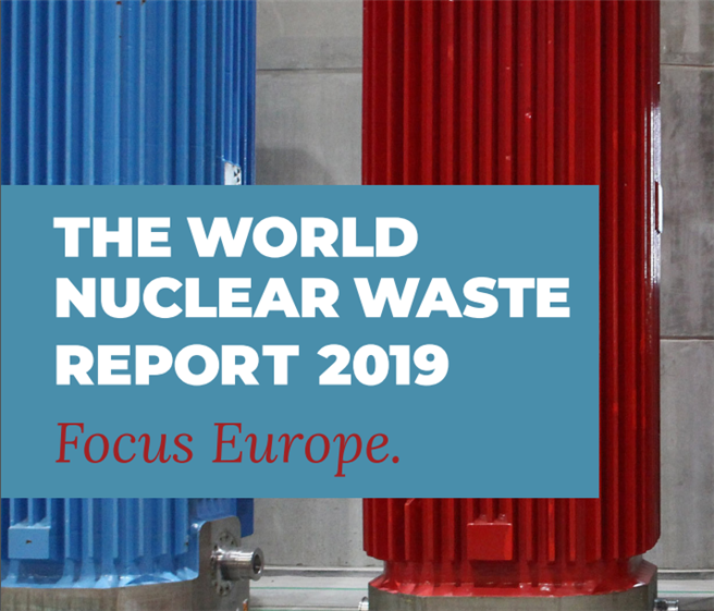 Der World Nuclear Waste Report. © CC-BY-SA