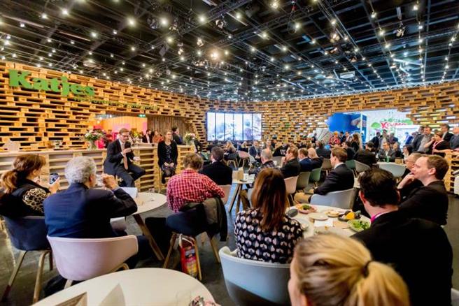 ISM 2020: Klima-Pressekonferenz von Katjes auf dem nachhaltigsten Messestand der Internationalen Süßwaren-messe (02. - 05.02.2020 in Köln). © Katjes Fassin