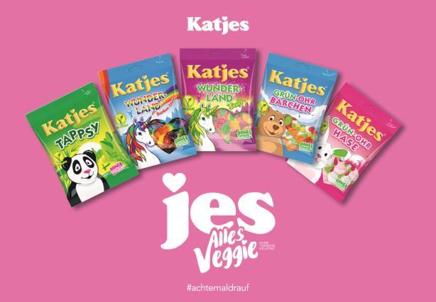 Mit der Umstellung auf ein komplett vegetarisches Sortiment vor vier Jahren machte sich Katjes bereits einen Namen als Pionier in Sachen vegetarischer und nachhaltigerer Produkte. © Katjes Fassin