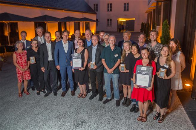 Die Preisträger des Neumarkter Lammsbräu Nachhaltigkeitspreises 2019 © Neumarkter Lammsbräu