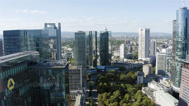 Die Bankenmetropole Frankfurt am Main. Die Geldbranche ist das pulsierende Herz der Stadt. Copyright: ZDF/Christian Gruber