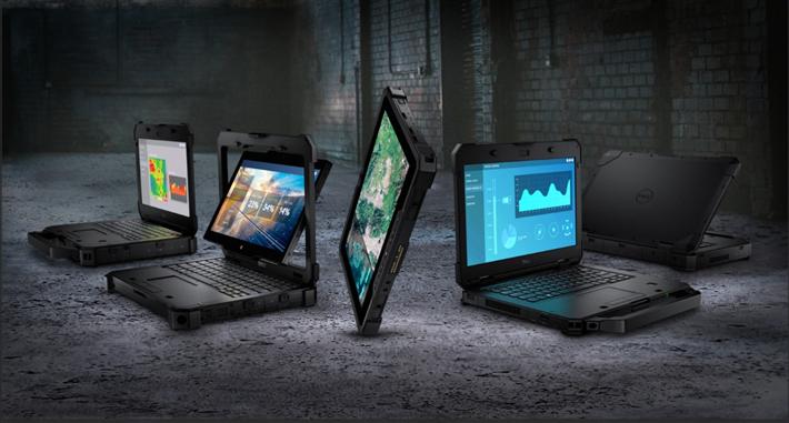 Die mobilen Workstations der Latitude-Rugged-Reihe arbeiten auch unter extremen Bedingungen zuverlässig. © Dell Technologies