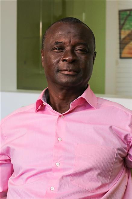 Elijah Owusu-Cashiekrom ist stolz auf das Erreichte und hofft, dass die Erfolge in seiner Heimat als gutes Beispiel für andere Anbauregionen dienen können. © Patrick Floyd