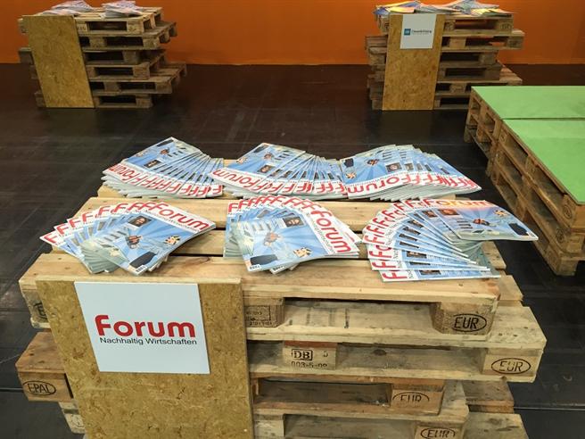 forum Nachhaltig Wirtschaften auf der FAIR FRIENDS 2016