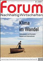 forum 01/2007 - Klima im Wandel