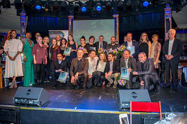 Ein Dank an alle Unterstützer des Green Me Festival for Sustainability Berlin 2017. © Ernst Kaczynski