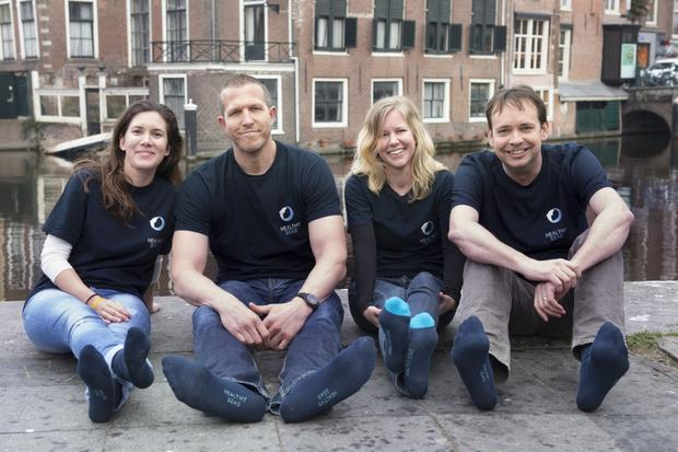 Das Healthy Seas Team. Foto: OnePlanetCrowd